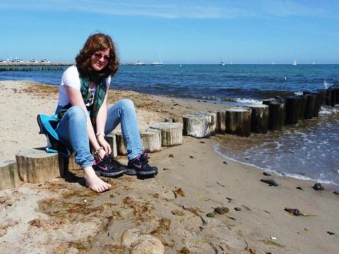 viel zu schönes Wetter für Schuhe ;)